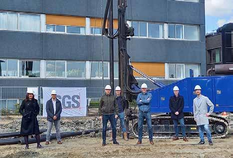 Page 122 of SGS constructing new, state-of-the-art laboratory near Rotterdam • First gold pour at Segilola Gold Mine for Thor Explorations