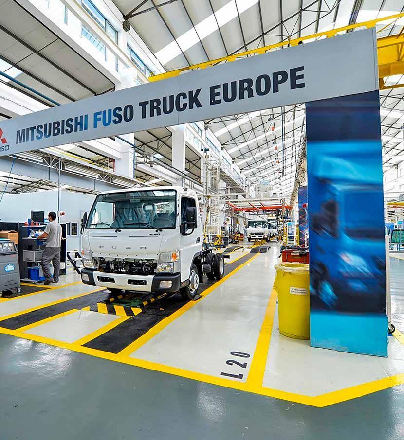 Page 40 of Mitsubishi Fuso Truck Europe anuncia neutralidade carbónica em 2022