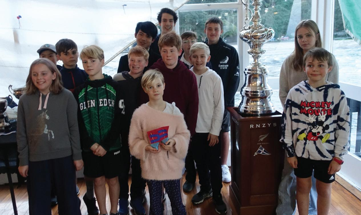 Page 5 of Art under lockdown; Titirangi hosts the America's Cup