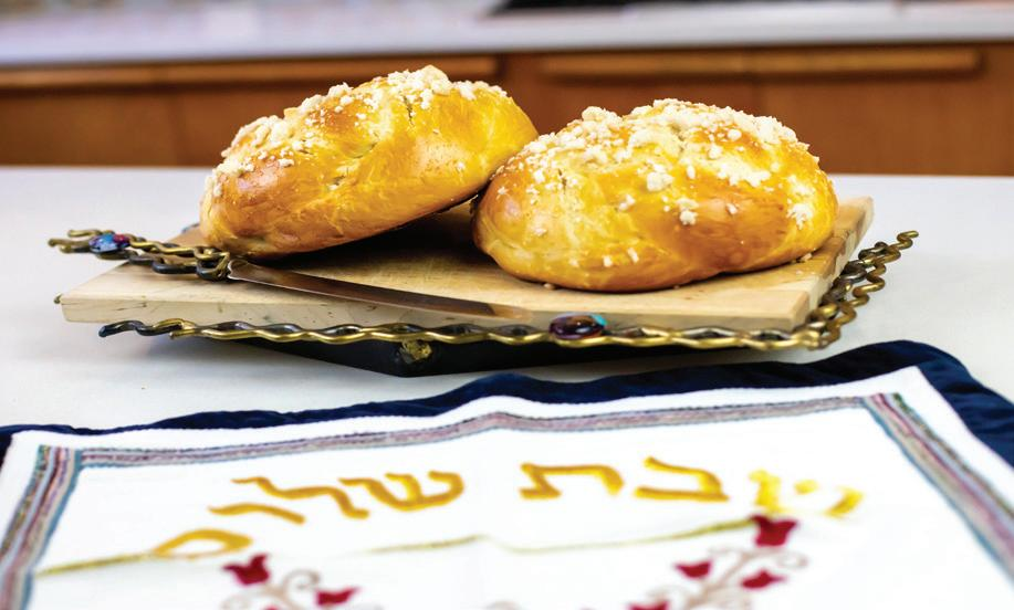 Page 24 of Cover Story; The Challah Maven