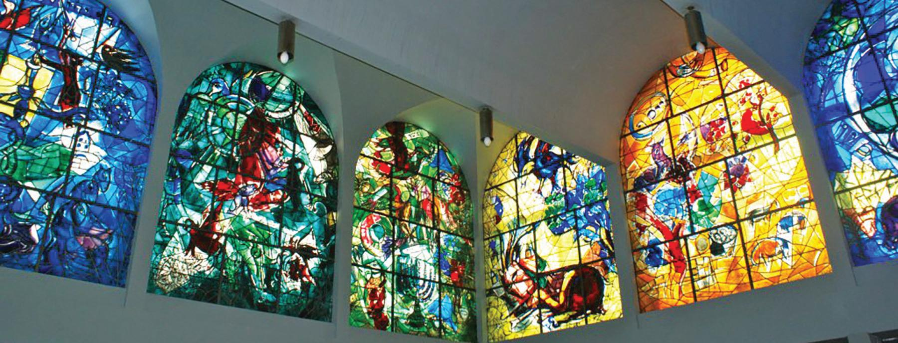 Page 22 of The Chagall Windows at Hadassah Hospital: Expressing Jewish Culture Through Stained Glass