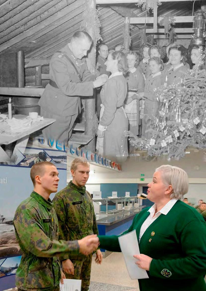 Page 38 of Sotilaskotiliitto 100 vuotta