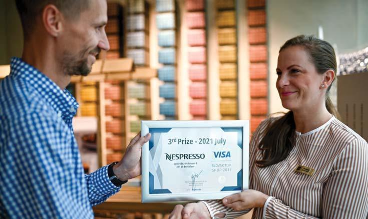 Page 16 of Visa Slovak Top Shop: Noví držitelia ocenení