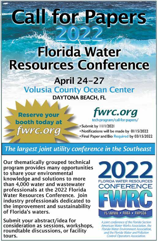 Page 14 of 2022 Florida Water Resources Conference Call for Papers
