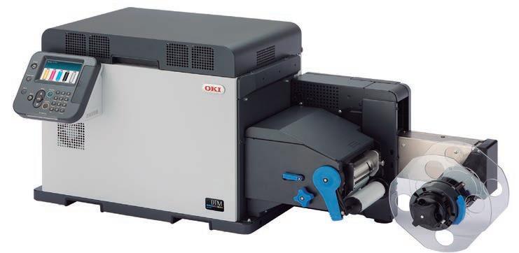 Page 30 of DTM Print presenta la solución perfecta para impresión y fi nalización de etiquetas